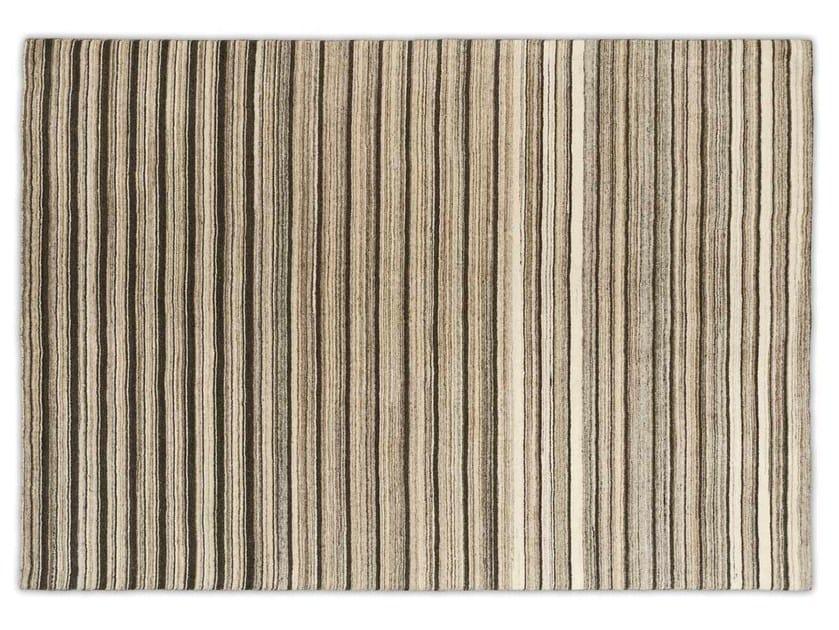 Rectangular wool rug MULTISTRIPE - Calligaris