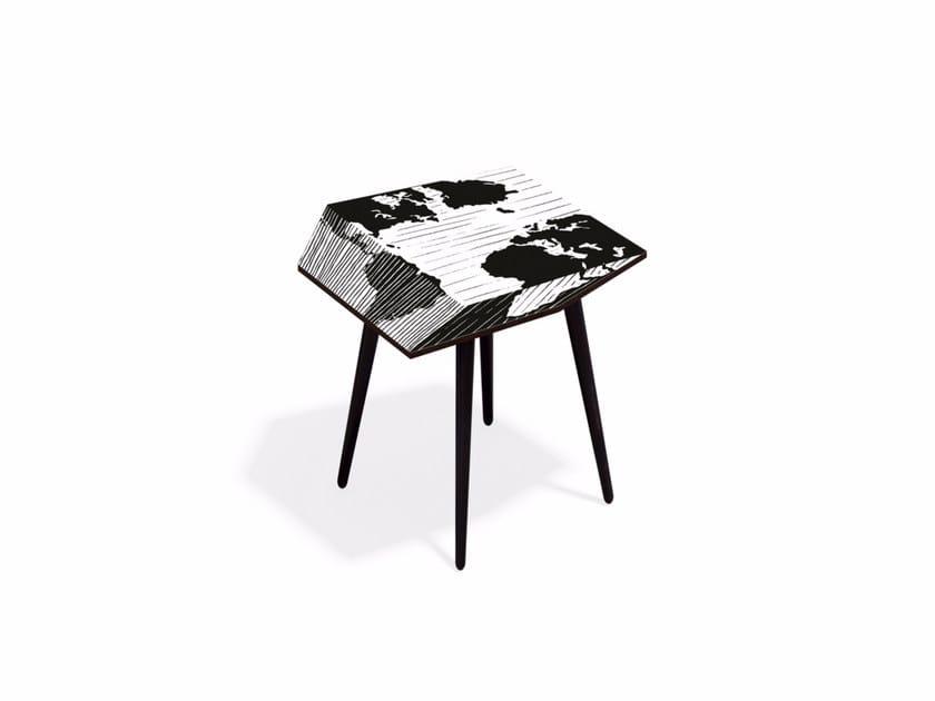 Laminate coffee table MUNDI M40 by Bazartherapy