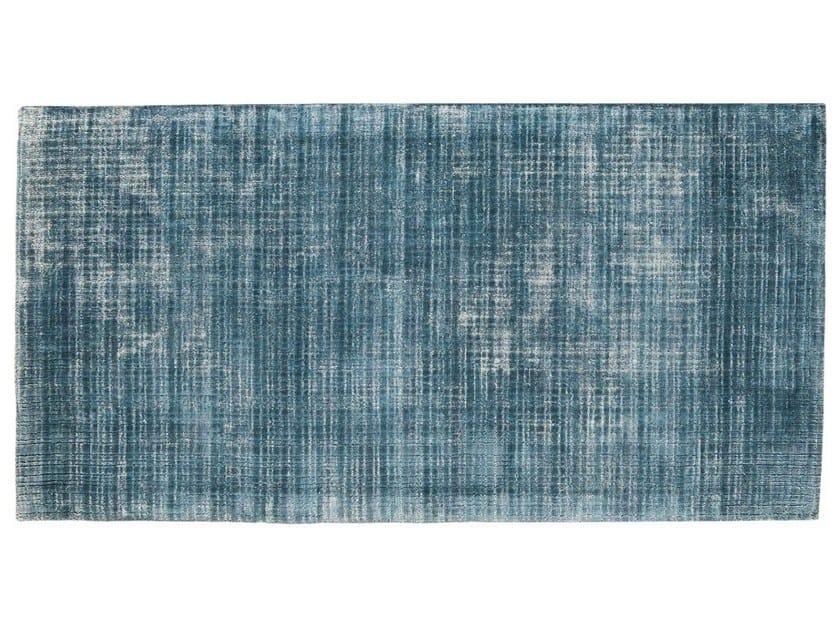 Solid-color rectangular silk rug MURMURE - Toulemonde Bochart