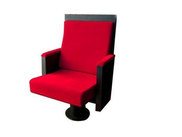 Fabric auditorium seats MUSIKTHEATER - LINZ - Ares Line