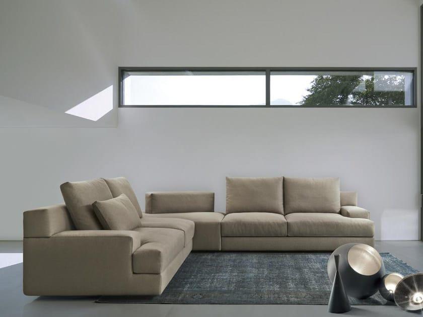 Corner fabric sofa MY LIFE | Corner sofa by Papadatos