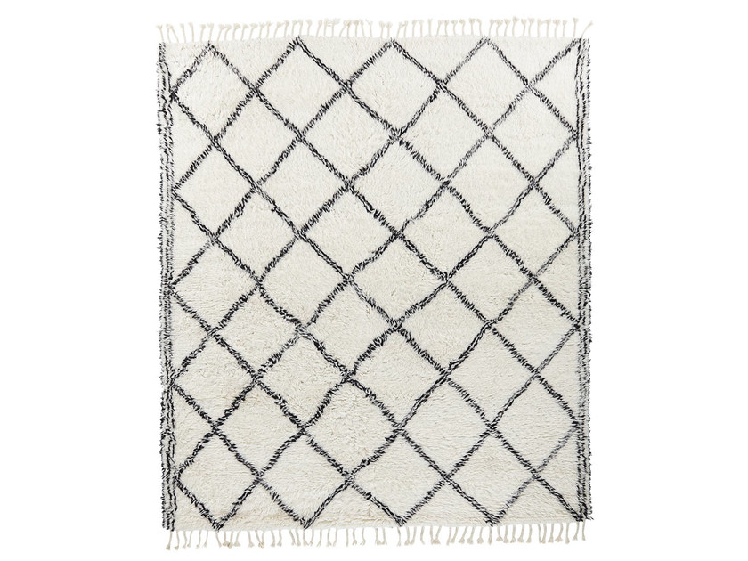 Wool rug with geometric shapes MY ROCKO VOL. V by miinu