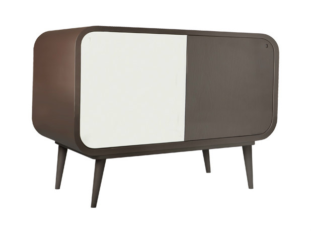 Lacquered sideboard with doors MYL - AZEA