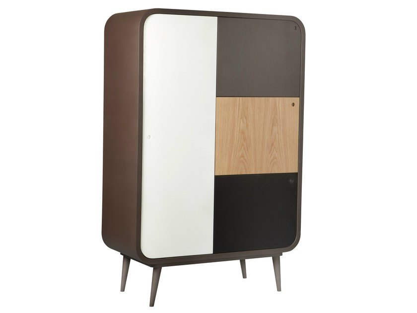 Highboard with doors MYLO by AZEA