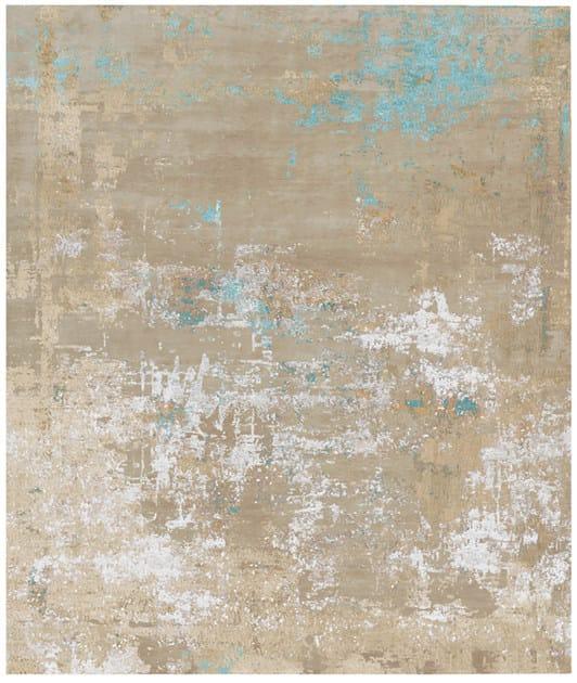 Handmade rectangular rug MYRESJO - HENZEL STUDIO