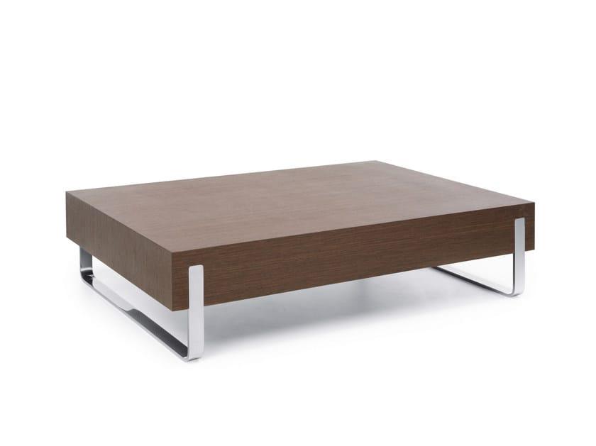 Rectangular HPL coffee table MYTURN S1V/S1H - profim