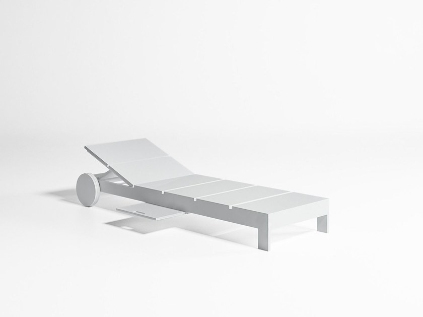 Aluminium garden daybed with Casters NA XEMENA | Garden daybed with Casters - GANDIA BLASCO