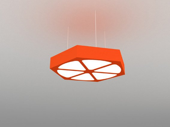 Modular pendant lamp NAH 600S- 900S-1200S - Neonny