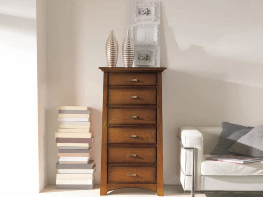 Free standing solid wood chest of drawers NAIMA | Chest of drawers - Arvestyle