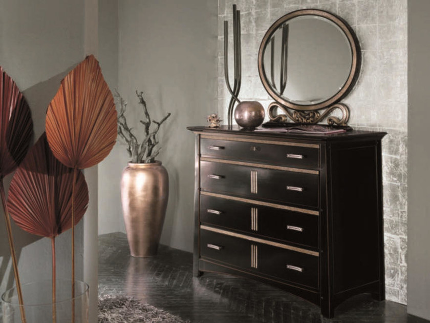Lacquered solid wood dresser NAIMA | Lacquered dresser by Arvestyle