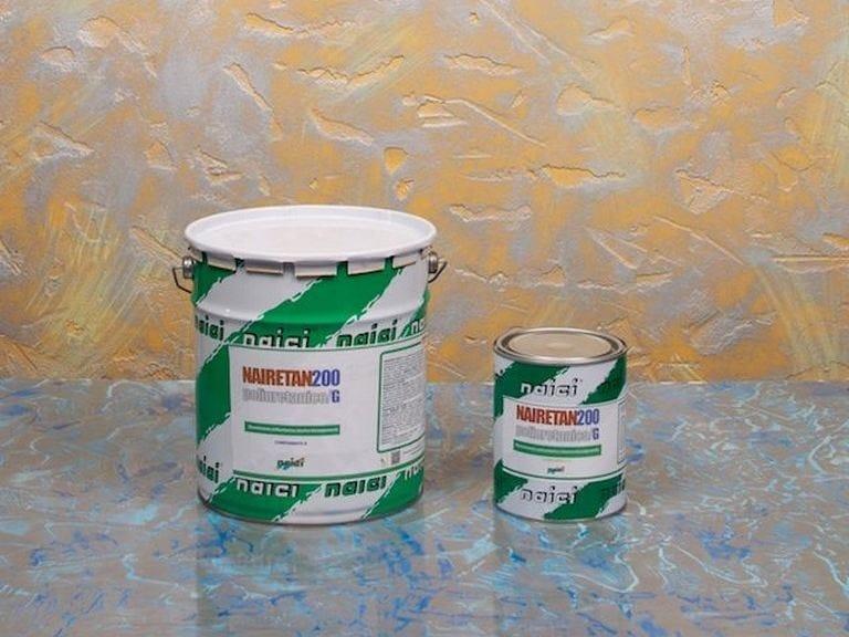 Industrial flooring NAIRETAN 200 POLIURETANICO/P - NAICI ITALIA