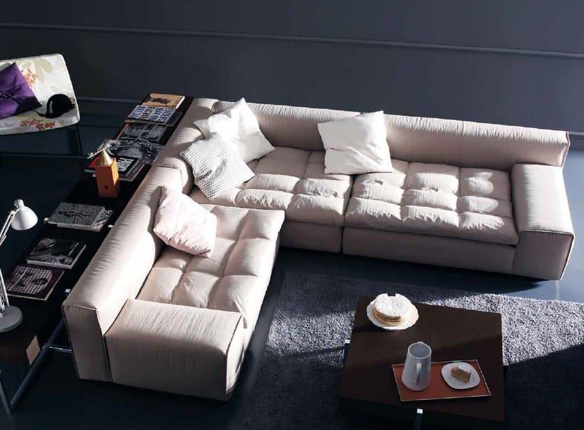 Corner upholstered fabric sofa NAP | Corner sofa by arflex