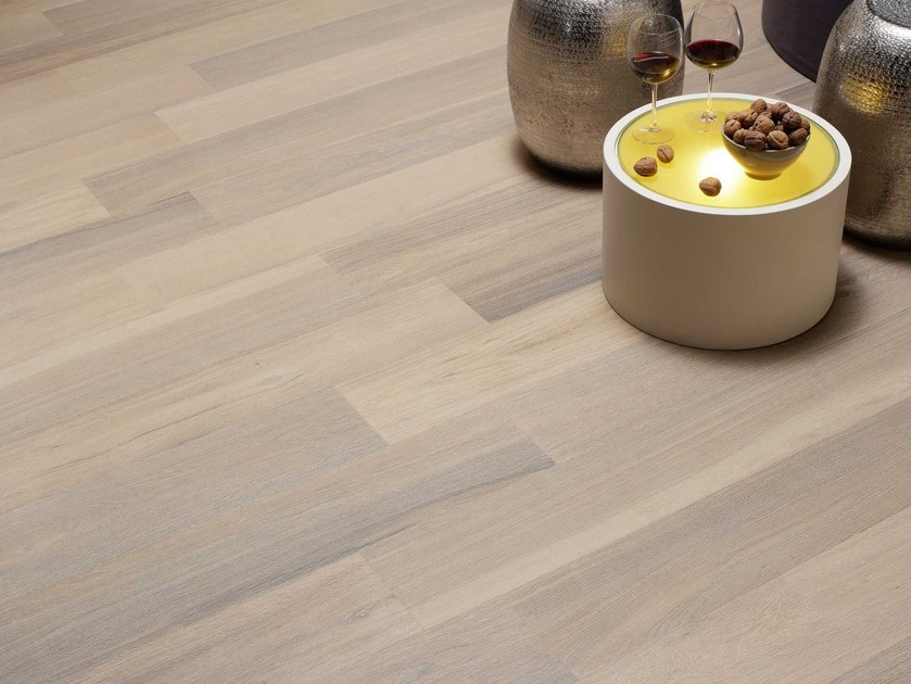 Wall/floor tiles with wood effect NAPAMI MOIRÉ by NOVOCERAM