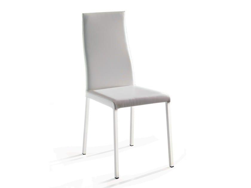 Leather chair NATURAL - Ozzio Italia