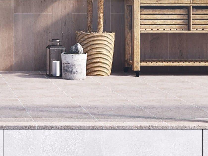 Porcelain stoneware flooring NATURE by Hönnun