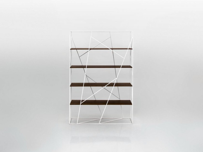 Open double-sided divider bookcase NAVIGLIO by Tonin Casa