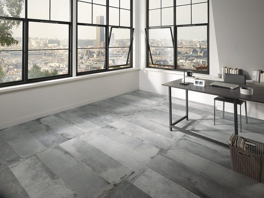 Porcelain stoneware flooring with stone effect LASCAUX NAXA STUDIO by La Fabbrica