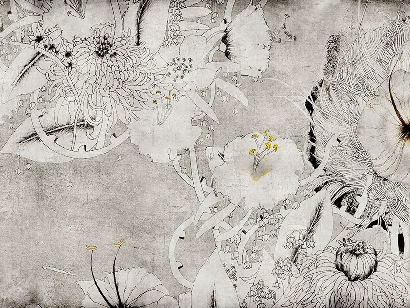 Fiberglass textile wallpaper NC-02 - MOMENTI di Bagnai Matteo