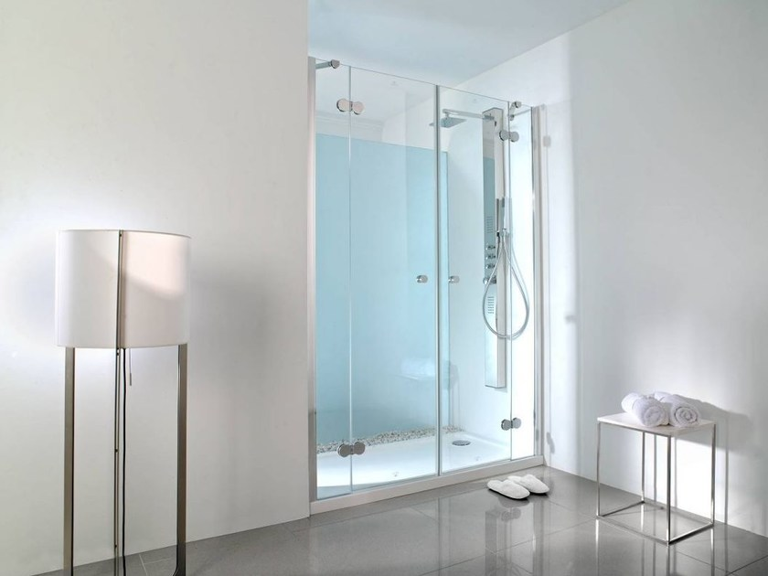 Rectangular glass shower cabin NEO 9/9 by Systempool