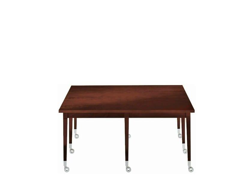 Mahogany coffee table NEOZ by Driade