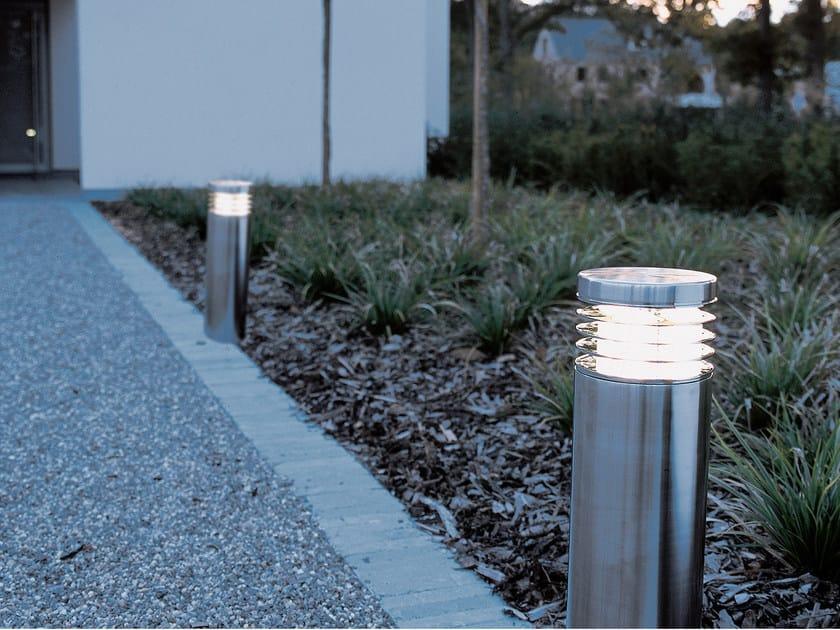 Paletto luminoso da giardino in acciaio inox NEPTUNE - ROYAL BOTANIA