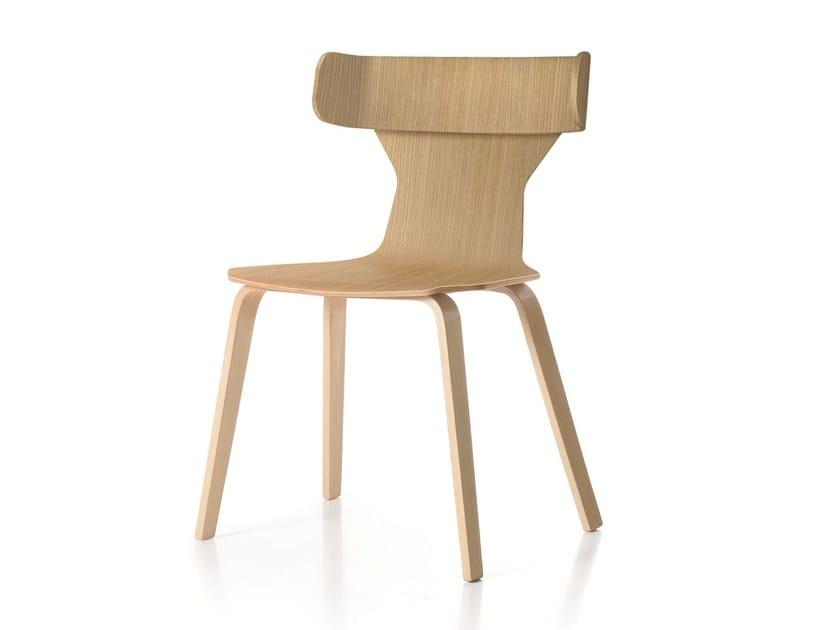 Multi-layer wood chair NERTA | Chair - Quinti Sedute