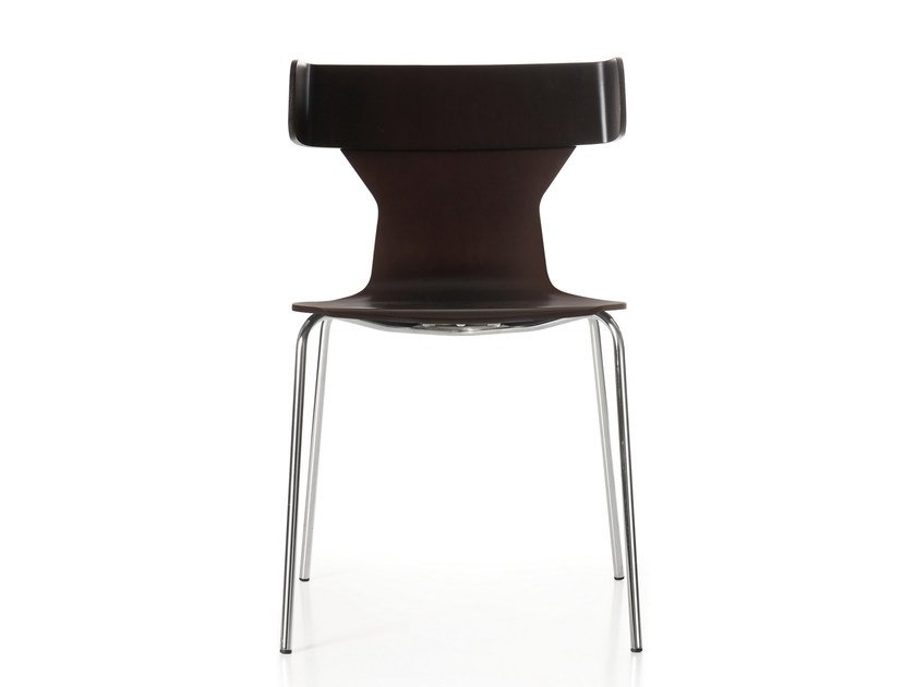 Lacquered multi-layer wood chair NERTA | Lacquered chair by Quinti Sedute