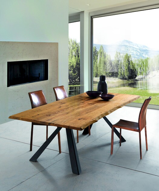 tavolo rettangolare in rovere nevada wild oliver b