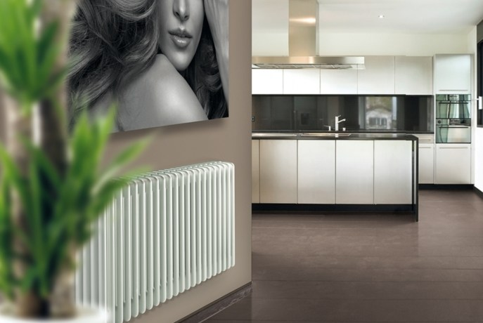 Horizontal wall-mounted radiator NEW LINE | Wall-mounted radiator - DELTACALOR