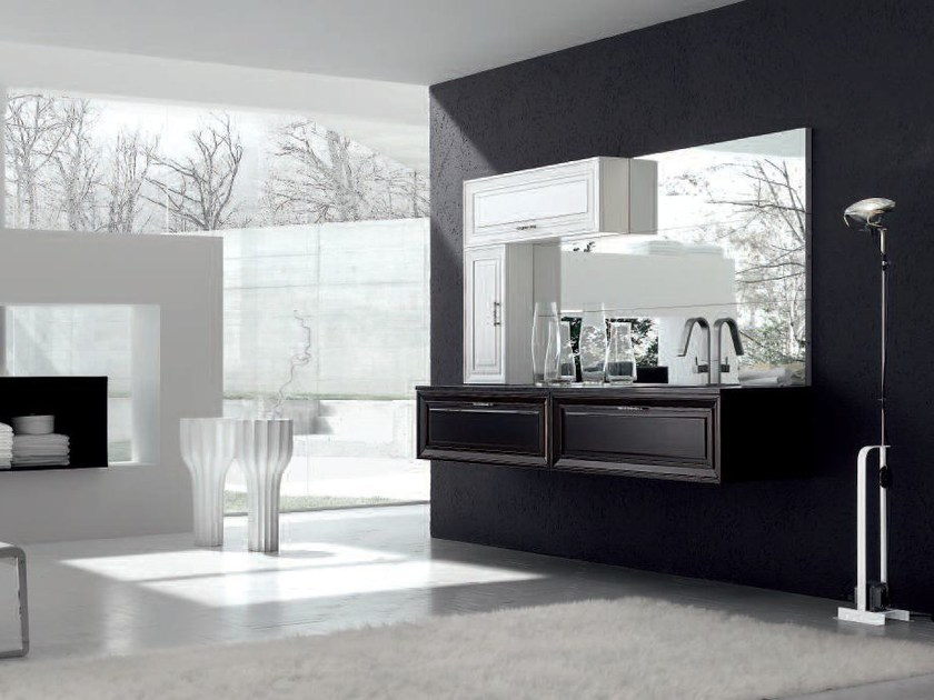 Lacquered vanity unit NEW STYLE - COMPOSITION 2 by Arcom