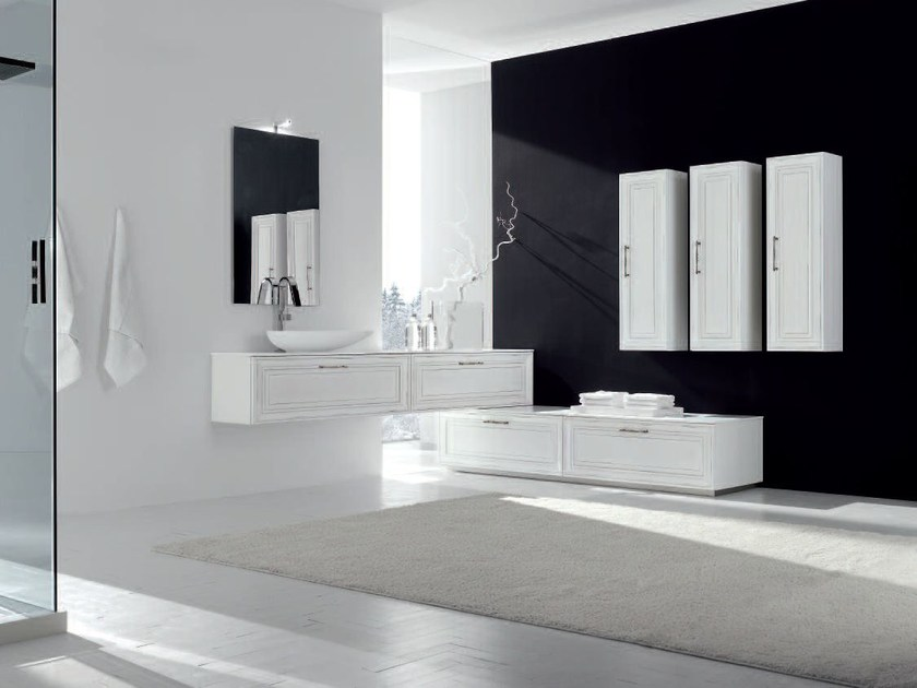 Bathroom cabinet / vanity unit NEW STYLE - COMPOSITION 8 - Arcom