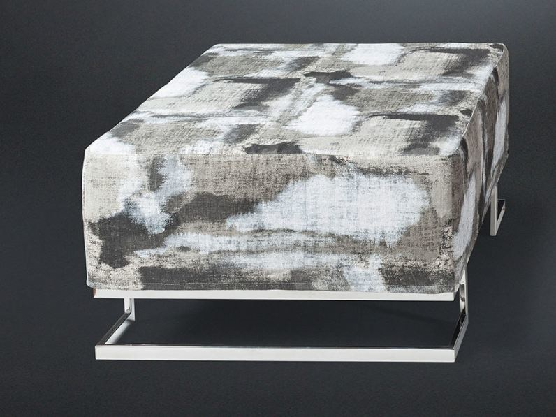 Rectangular fabric pouf NEW YORK BIS | Pouf by VGnewtrend