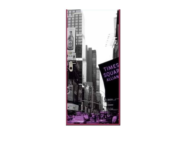 Door panel for indoor use GRAPHICS-IN NEW YORK by Metalnova