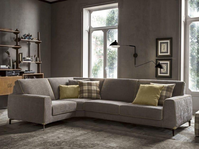 Corner fabric sofa NEWMAN | Corner sofa by Felis
