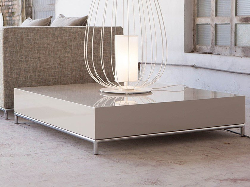 Low MDF coffee table NEWMAN | Coffee table - Domingo Salotti