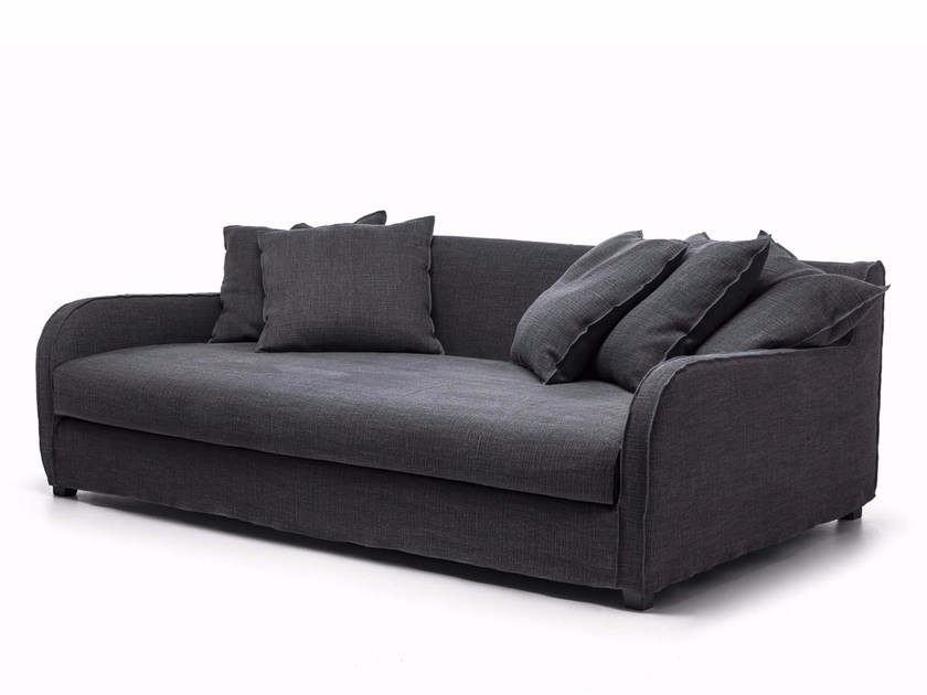 Upholstered fabric sofa with removable cover NEXT 16 by Gervasoni
