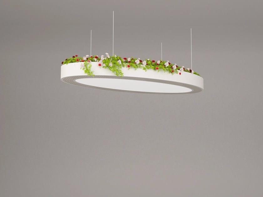 LED pendant lamp NGS LA O OB | Pendant lamp - Neonny