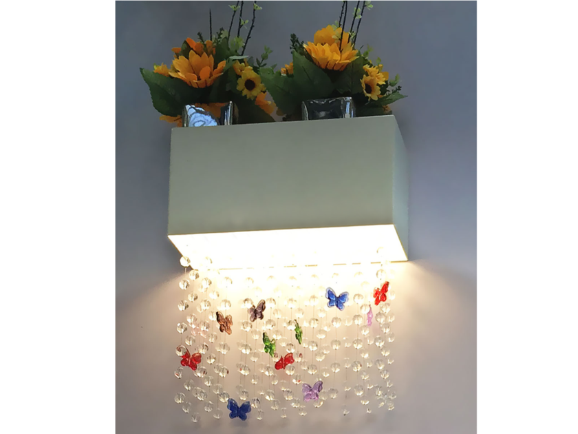 Wall light with Swarovski crystals NGW R1131 | Wall light - Neonny