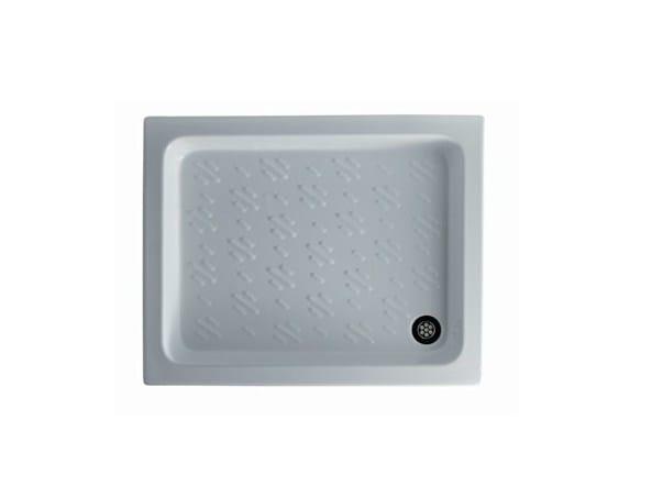 Anti-slip rectangular shower tray NIBBIO - GALASSIA