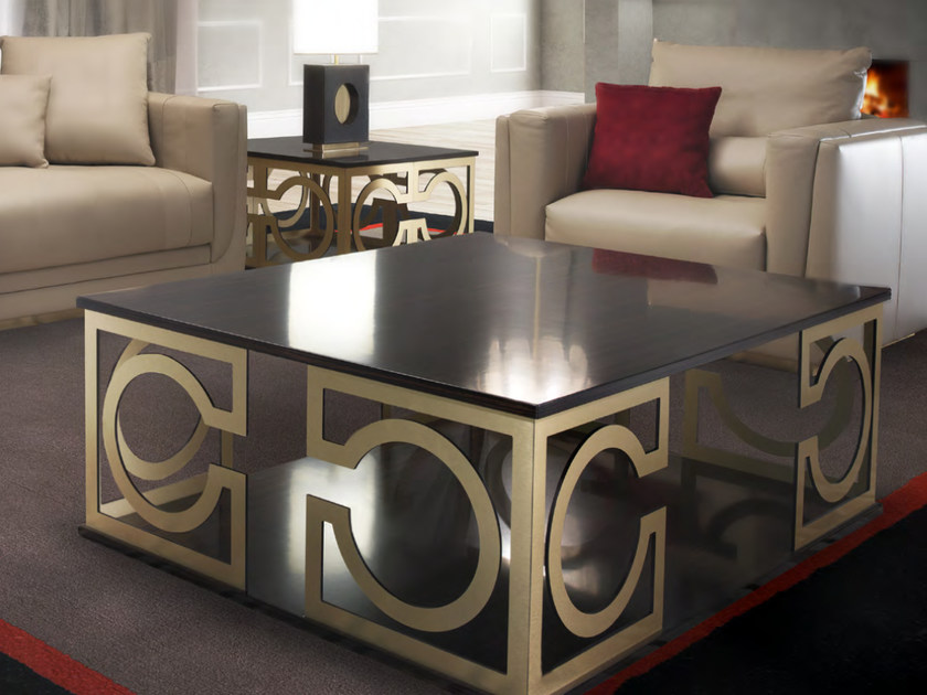 Low rectangular coffee table for living room NICCOLÒ | Rectangular coffee table - Formitalia Group