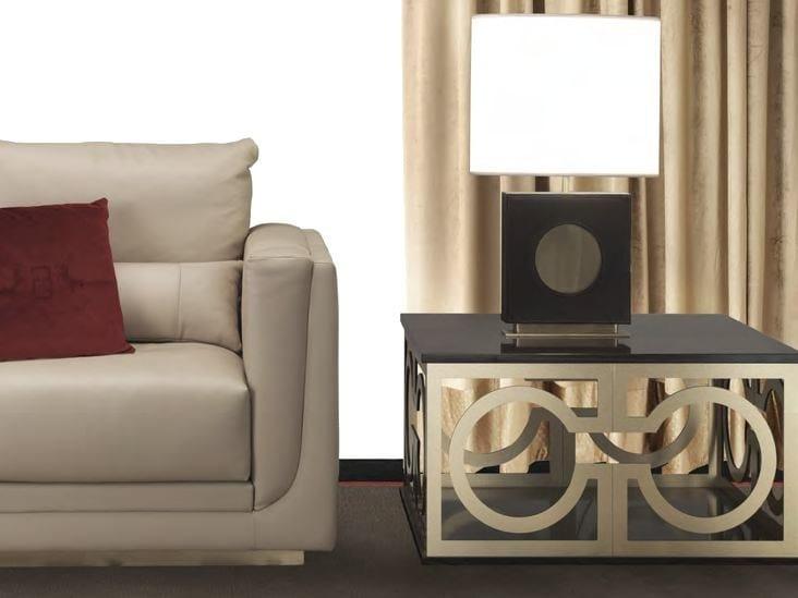 Tavolino basso quadrato da salotto NICCOLÒ | Tavolino quadrato - Formitalia Group