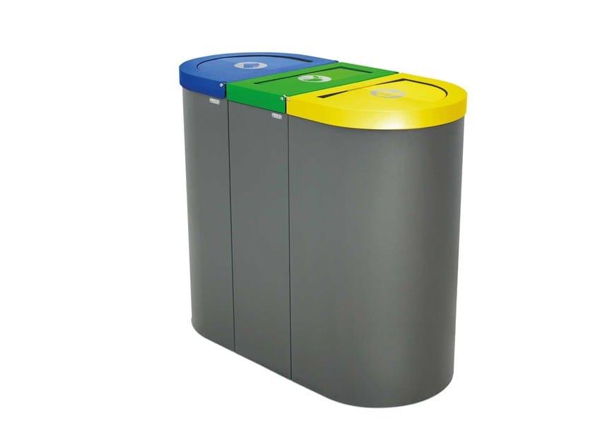 Steel waste bin NICE by rosconi