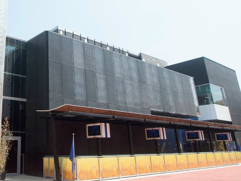 Metal sheet and panel for facade NIGHT by GATTI PRECORVI