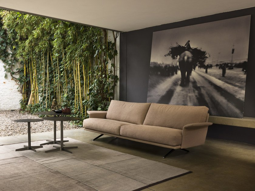 Fabric sofa with removable cover NILSON | Sofa by Verzelloni