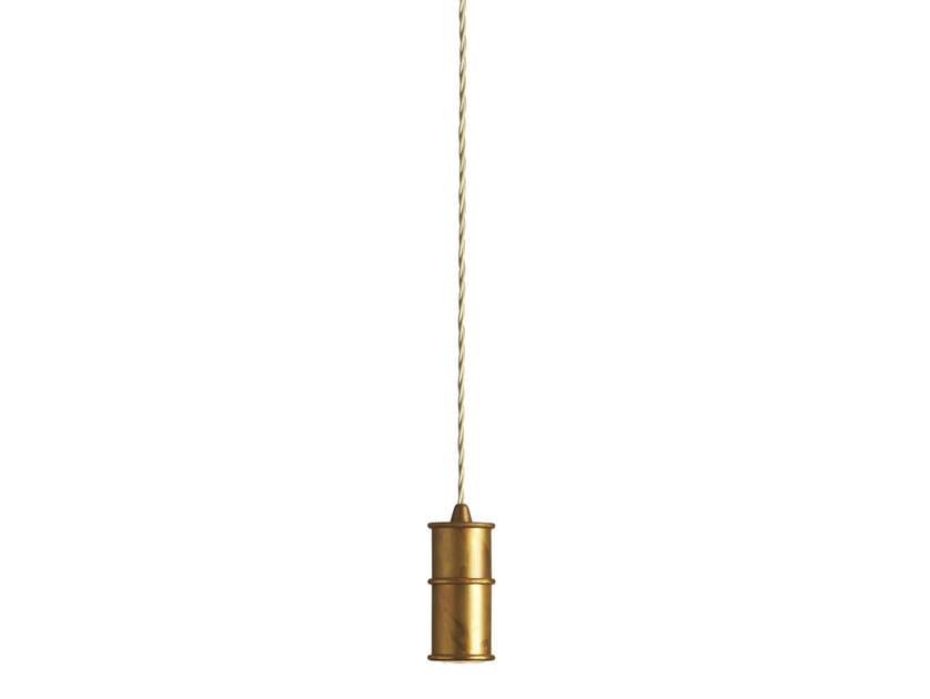 Direct light brass pendant lamp NIO | Direct light pendant lamp - Gibas
