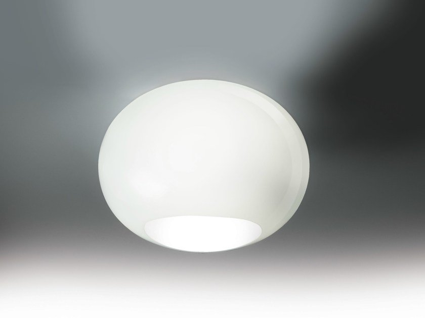 Blown glass ceiling light NOA | Ceiling light - LUCENTE - Gruppo Rostirolla