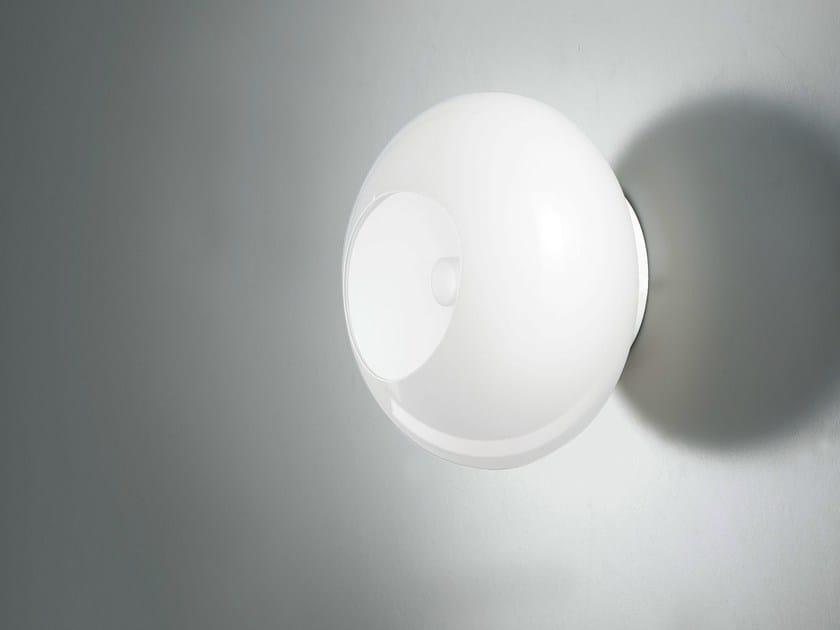 Blown glass wall lamp NOA | Wall lamp - LUCENTE - Gruppo Rostirolla