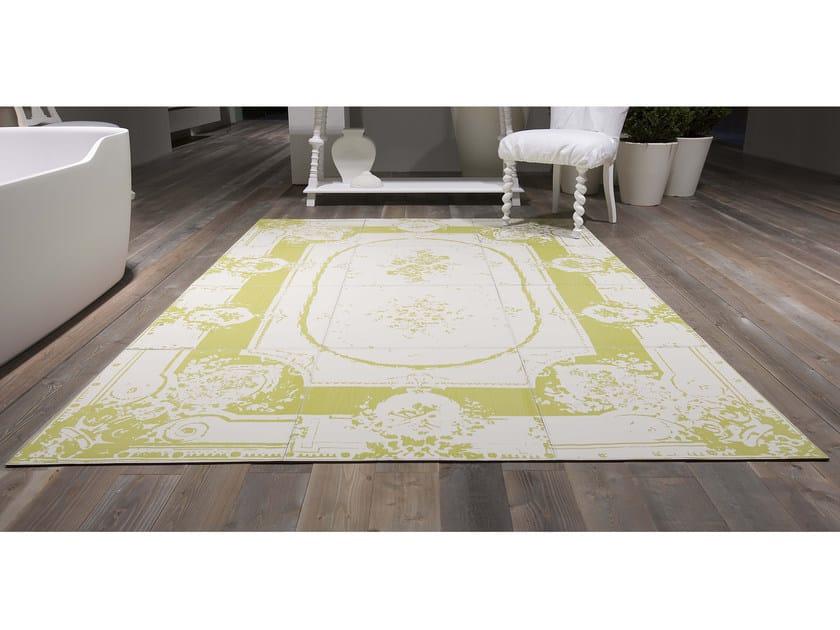 tapis rectangulaire en cuir pour salle de bain noaubusson ligne tapis by antonio lupi design. Black Bedroom Furniture Sets. Home Design Ideas