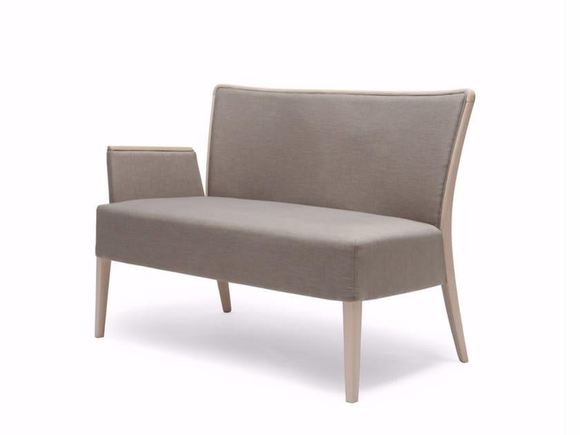 Fabric small sofa NOB 235 - Origins 1971