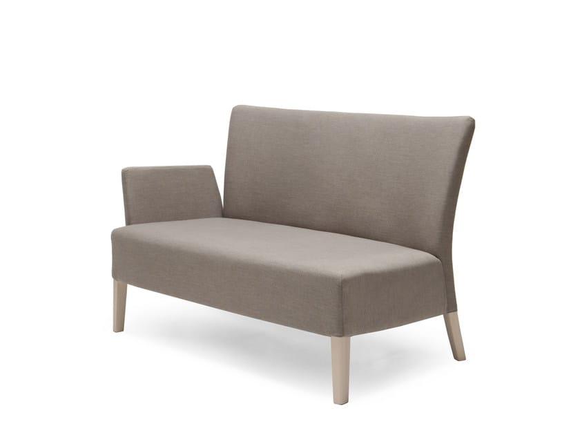 Fabric small sofa NOBLESSE 221 - Origins 1971